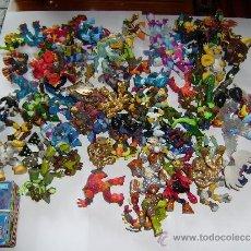 Figuras y Muñecos Gormiti: MAS DE 100 GORMITIS, LOS 7 PRIMEROS NÚMEROS DE LA REVISTA GORMITI ,AGENDA 2009 ,CARTERA Y 76 CARTAS. Lote 34747758
