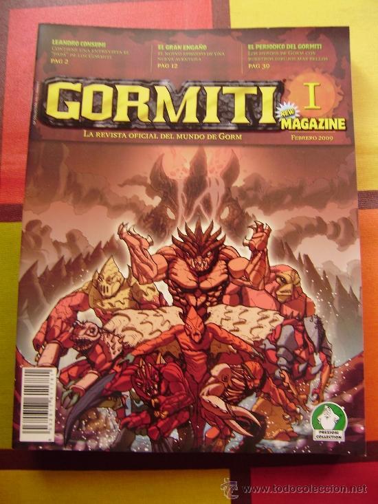 Figuras y Muñecos Gormiti: MAS DE 100 GORMITIS, LOS 7 PRIMEROS NÚMEROS DE LA REVISTA GORMITI ,AGENDA 2009 ,CARTERA Y 76 CARTAS - Foto 10 - 34747758