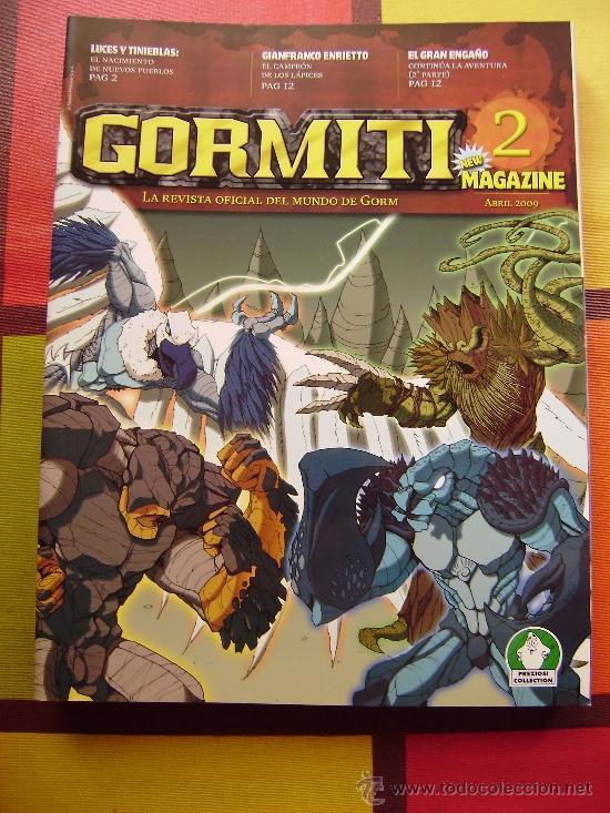 Figuras y Muñecos Gormiti: MAS DE 100 GORMITIS, LOS 7 PRIMEROS NÚMEROS DE LA REVISTA GORMITI ,AGENDA 2009 ,CARTERA Y 76 CARTAS - Foto 11 - 34747758