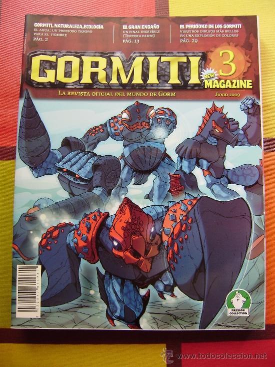 Figuras y Muñecos Gormiti: MAS DE 100 GORMITIS, LOS 7 PRIMEROS NÚMEROS DE LA REVISTA GORMITI ,AGENDA 2009 ,CARTERA Y 76 CARTAS - Foto 12 - 34747758