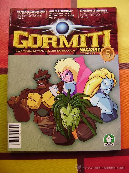 Figuras y Muñecos Gormiti: MAS DE 100 GORMITIS, LOS 7 PRIMEROS NÚMEROS DE LA REVISTA GORMITI ,AGENDA 2009 ,CARTERA Y 76 CARTAS - Foto 14 - 34747758
