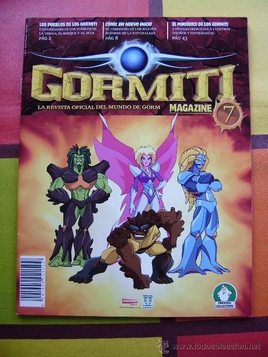 Figuras y Muñecos Gormiti: MAS DE 100 GORMITIS, LOS 7 PRIMEROS NÚMEROS DE LA REVISTA GORMITI ,AGENDA 2009 ,CARTERA Y 76 CARTAS - Foto 16 - 34747758