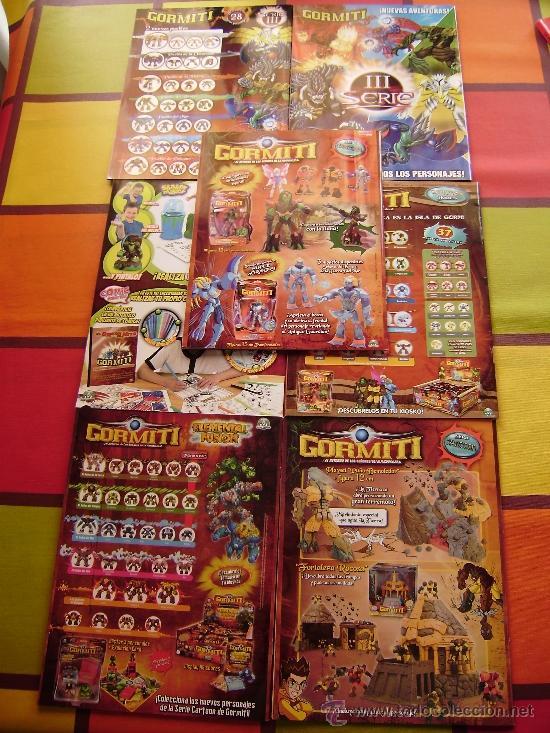 Figuras y Muñecos Gormiti: MAS DE 100 GORMITIS, LOS 7 PRIMEROS NÚMEROS DE LA REVISTA GORMITI ,AGENDA 2009 ,CARTERA Y 76 CARTAS - Foto 17 - 34747758