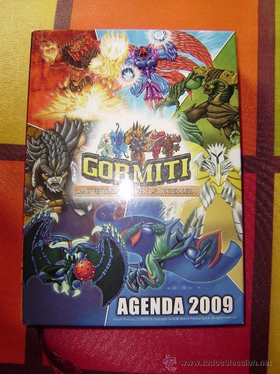 Figuras y Muñecos Gormiti: MAS DE 100 GORMITIS, LOS 7 PRIMEROS NÚMEROS DE LA REVISTA GORMITI ,AGENDA 2009 ,CARTERA Y 76 CARTAS - Foto 18 - 34747758
