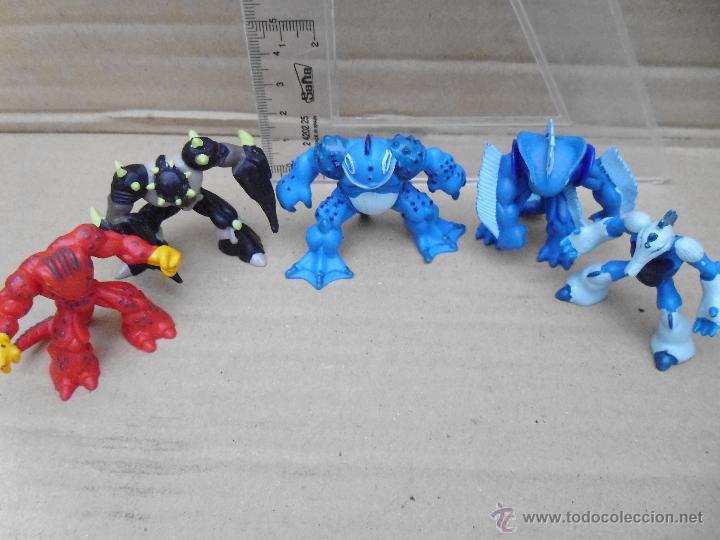 Figuras y Muñecos Gormiti: Figuras Gormiti todas en la plata del pie pone Gormiti 2007 ( lote 4) - Foto 2 - 52945885