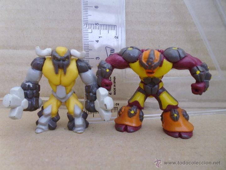Figuras y Muñecos Gormiti: Figuras Gormiti todas en la planta del pie pone Gormiti 2007 ( lote 6) - Foto 2 - 52946016