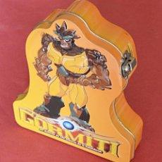 Figuras y Muñecos Gormiti: GORMITI - HUCHA - CAJA DE METAL. Lote 89491072