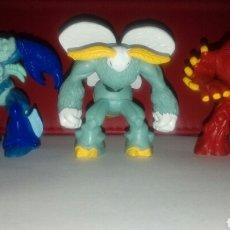 Figuras y Muñecos Gormiti: LOTE TRES GORMITIS 2007. Lote 93264288