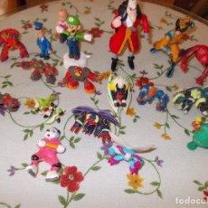 Figuras y Muñecos Gormiti: LOTE DE 17 FIGURAS VARIADO AY GORMITIS SUPER MARIO ETC . Lote 104430627