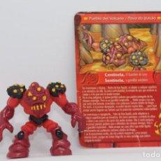 Figurines et Jouets Gormiti: GORMITI SERIE 3 - CENTINELA EL GUARDIAN DE LAVA - FIGURA Y CARTA - ESPECIAL HUEVO MAGICO. Lote 253003285