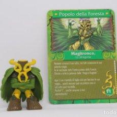 Figuras e Bonecos Gormiti: GORMITI SERIE 3 - MAGITRONCO EL HECHICERO - FIGURA Y CARTA - ESPECIAL HUEVO MAGICO. Lote 105521539