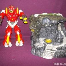 Figuras y Muñecos Gormiti: MAGMION Y CAVERNA GORMITI-2008. Lote 112457091