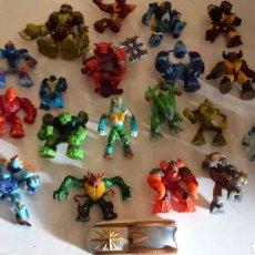 Figuras y Muñecos Gormiti: GORMITI LOTE 20 FIGUAS AUTENTICAS. Lote 112892198