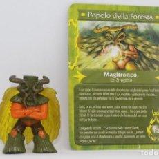 Figuras y Muñecos Gormiti: GORMITI SERIE MYTHOS - MAGITRONCO - FIGURA Y CARTA. Lote 113829575