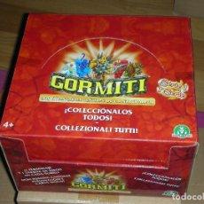 Figuras y Muñecos Gormiti: GORMITI CAJA COMPLETA SIN ABRIR SERIE 1 GIOCHI PREZIOSI 2007 SEÑORES DE LA NATURALEZA 24 X 24 X 15. Lote 117239739