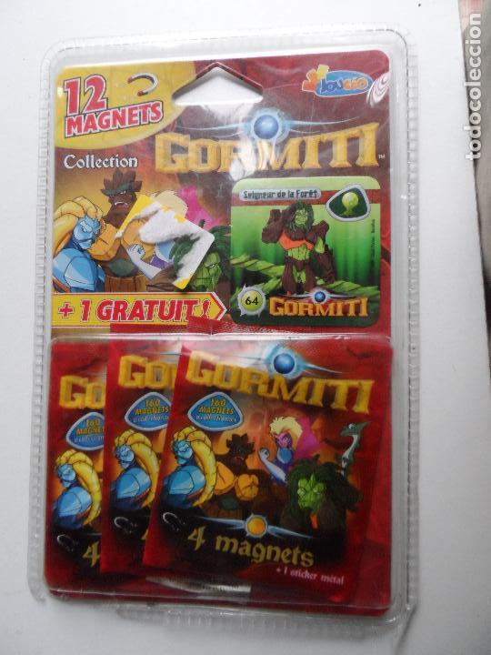 GORMITI 12 MAGNETS COLECCIÓN. (Juguetes - Figuras de Acción - Gormiti)