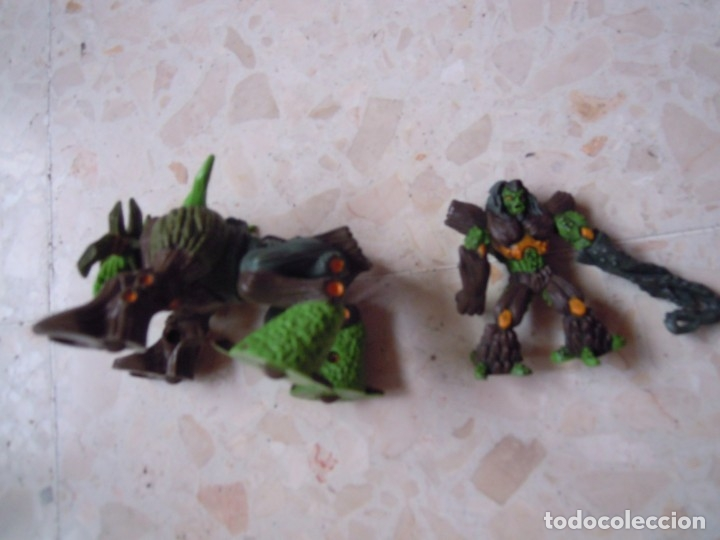 Figuras y Muñecos Gormiti: LOTE GORMITI ANIMAL BOSQUE CON GORMITI MONTADO, AGUA 13 CM Y 10 GORMITIS MAS - Foto 8 - 130534802