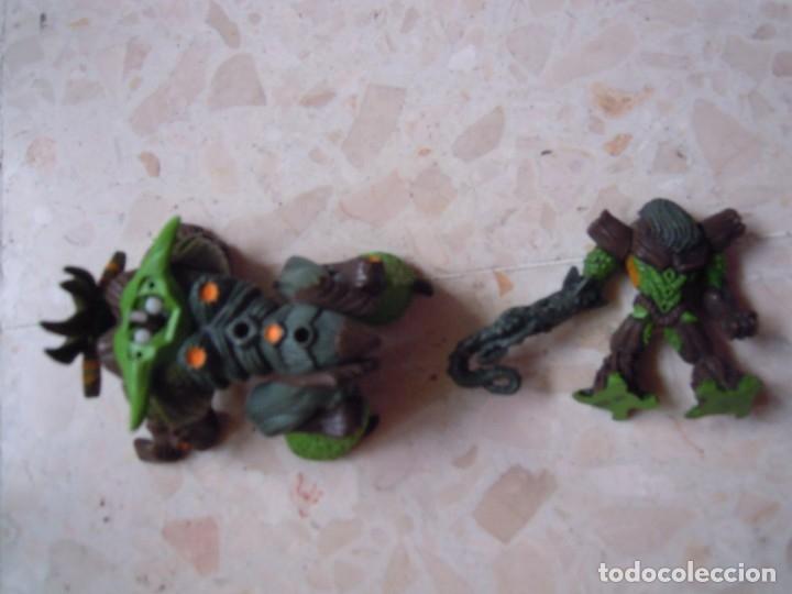 Figuras y Muñecos Gormiti: LOTE GORMITI ANIMAL BOSQUE CON GORMITI MONTADO, AGUA 13 CM Y 10 GORMITIS MAS - Foto 9 - 130534802
