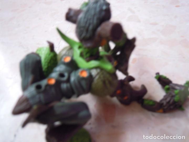 Figuras y Muñecos Gormiti: LOTE GORMITI ANIMAL BOSQUE CON GORMITI MONTADO, AGUA 13 CM Y 10 GORMITIS MAS - Foto 11 - 130534802