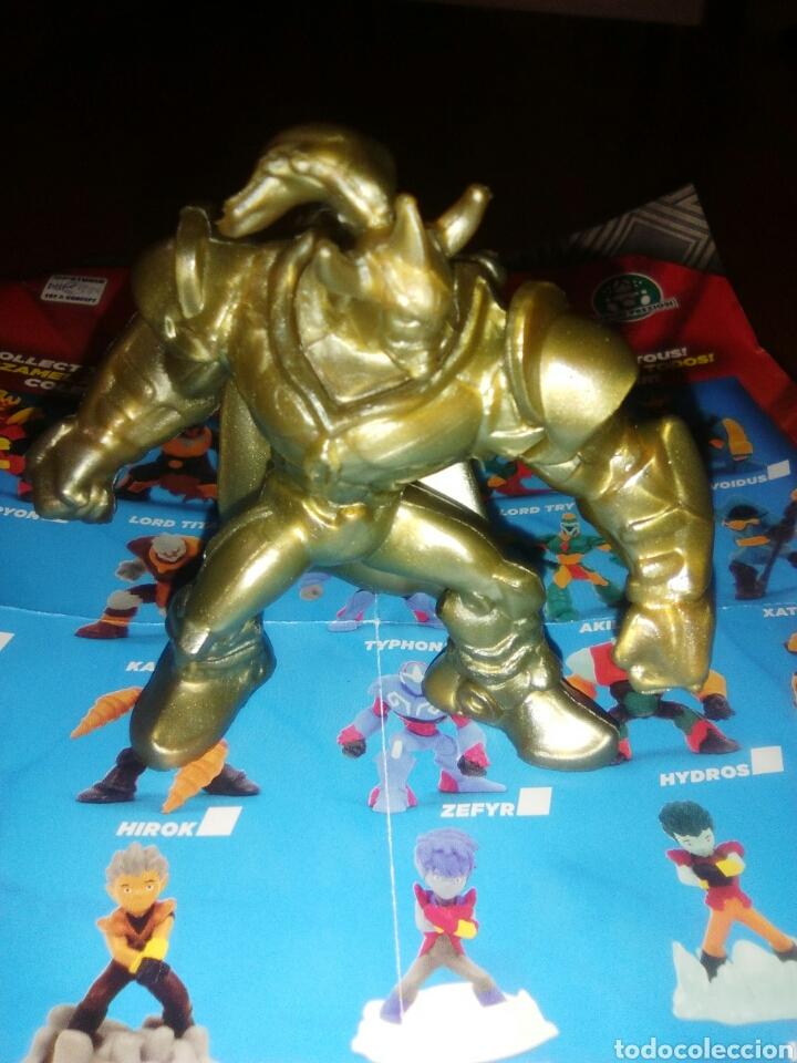 Figuren von Gormiti: Lord voidus edición limitada dorado minifigura gormiti - Foto 2 - 147697853
