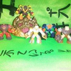 Figuras y Muñecos Gormiti: LOTE DE 5 FIGURAS Y PEANA *GORMITI* .... LAS MOSTRADAS EN IMAGENES.. Lote 136990066