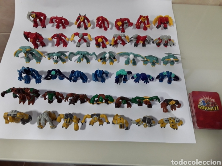 Figuras y Muñecos Gormiti: Colección completa de 42 figuras con cartas de GORMITI SERIE 1. NUEVAS no usadas. Serie italiana - Foto 4 - 138896308