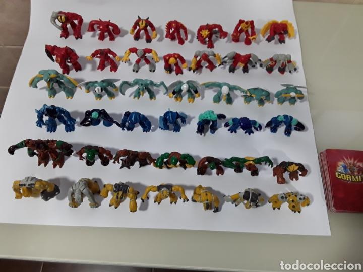 Figuras y Muñecos Gormiti: Colección completa de 42 figuras con cartas de GORMITI SERIE 1. NUEVAS no usadas. Serie italiana - Foto 5 - 138896308