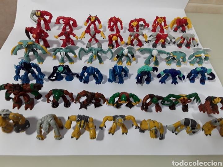 Figuras y Muñecos Gormiti: Colección completa de 42 figuras con cartas de GORMITI SERIE 1. NUEVAS no usadas. Serie italiana - Foto 6 - 138896308