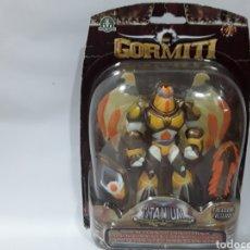 Figuras y Muñecos Gormiti: GORMITI LUMINISCENTE FIGURA TITANIUM SERIE 1. BLISTER ORIGINAL.. Lote 142715368