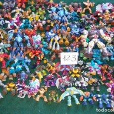 Figuras y Muñecos Gormiti: LOTE DE 123 GORMITIS. Lote 143151266