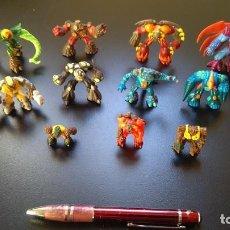 Figuras y Muñecos Gormiti: LOTE DE 12 MUÑECOS GORMITI DE VARIOS TAMAÑOS. Lote 143904098