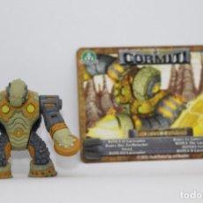 Figuras y Muñecos Gormiti: GORMITI SERIE MORPHOGENESIS - ROTEX - FIGURA Y CARTA. Lote 144336934