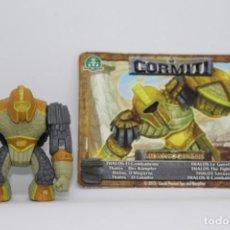 Figuras y Muñecos Gormiti: GORMITI SERIE MORPHOGENESIS - THALOS - FIGURA Y CARTA. Lote 144337006