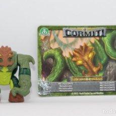 Figuras y Muñecos Gormiti: GORMITI SERIE MORPHOGENESIS - METALEONTE - FIGURA Y CARTA. Lote 144337462