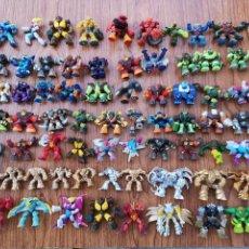Figuras y Muñecos Gormiti: GRAN LOTE GORMITIS 121 FIGURAS + EXTRAS + 120 CARTAS + BARAJA JUEGO. Lote 150681050