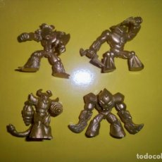 Figuras y Muñecos Gormiti: GORMITI SERIE ORO DORADOS GOLD EDITION. Lote 151004822