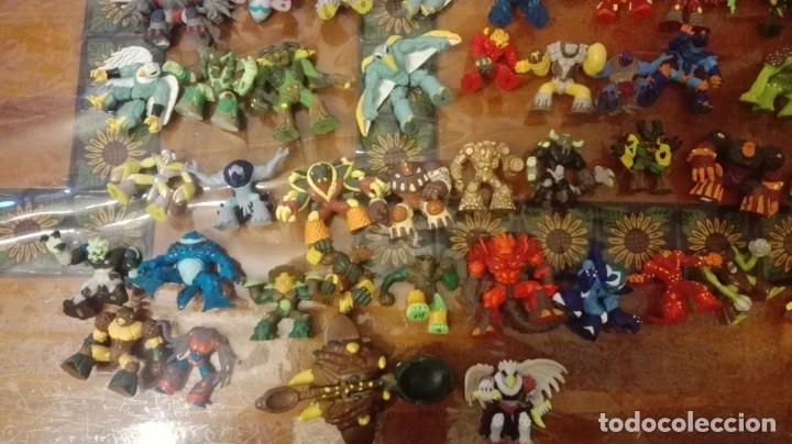 Figuras y Muñecos Gormiti: MAS DE 100 GORMITIS, LOS 7 PRIMEROS NÚMEROS DE LA REVISTA GORMITI ,AGENDA 2009 ,CARTERA Y 76 CARTAS - Foto 45 - 34747758