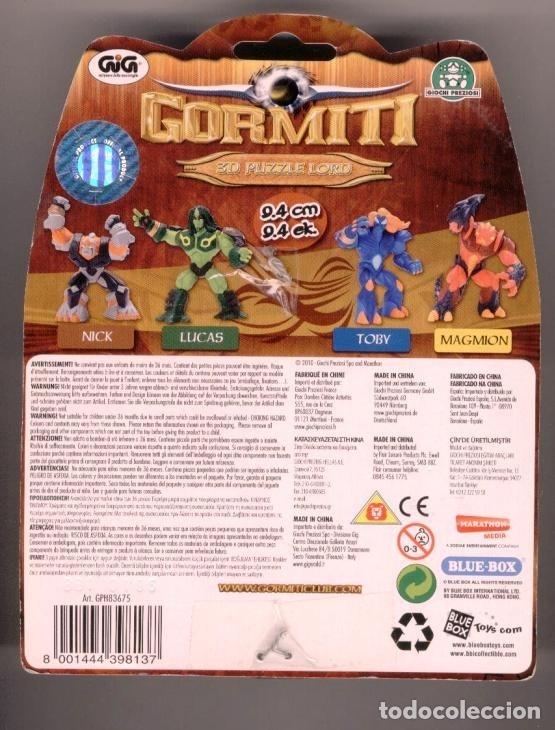 Figuras y Muñecos Gormiti: Gormiti Lucas 3D Puzzle Lord - Foto 2 - 179056041