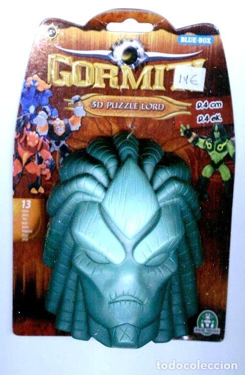 GORMITI LUCAS 3D PUZZLE LORD (Juguetes - Figuras de Acción - Gormiti)