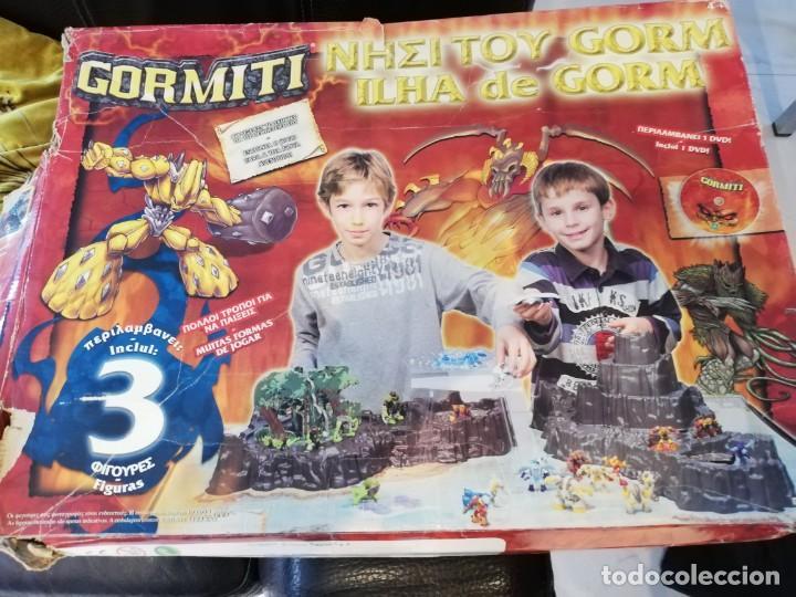 CAJA ISLA DE GORM (Juguetes - Figuras de Acción - Gormiti)