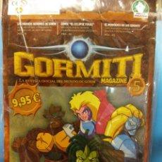 Figuras y Muñecos Gormiti: GORMITI 5. MAGAZINE 5. LA REVISTA OFICIAL DEL MUNDO DE GORM. . Lote 189252023