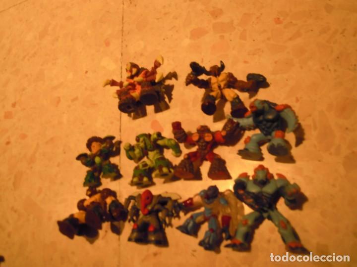 Figuras y Muñecos Gormiti: LOTE 12 GORMITI ANTIGUO AGUA ANIMAL BOSQUE AIRE TIERRA - Foto 8 - 194328990