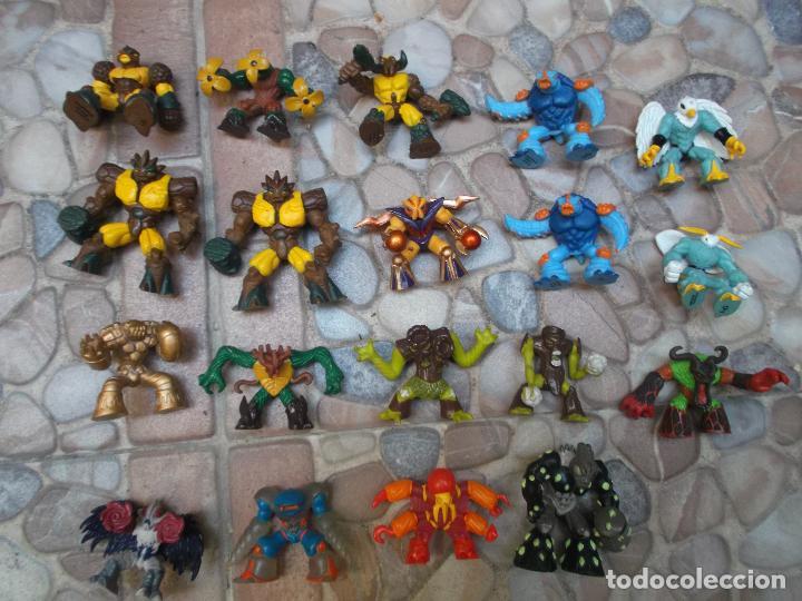 Figuras y Muñecos Gormiti: lote de 19 gormitis, mirar fotos - Foto 2 - 204648567