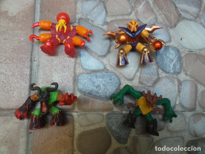 Figuras y Muñecos Gormiti: lote de 19 gormitis, mirar fotos - Foto 7 - 204648567