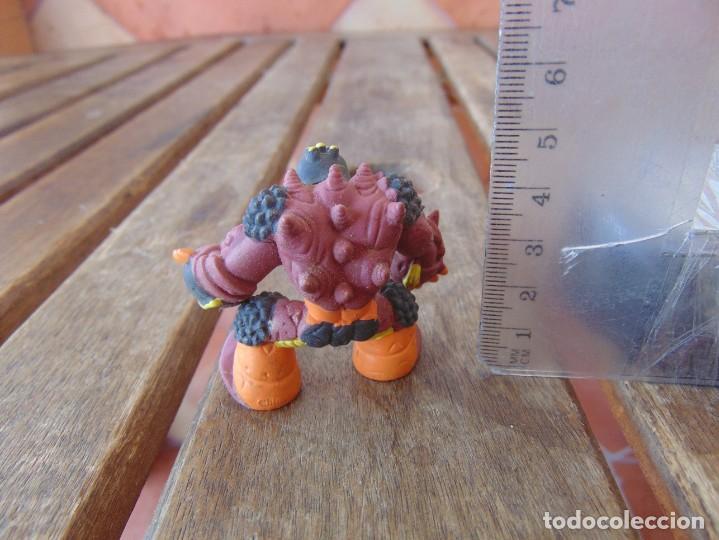 Figuras y Muñecos Gormiti: FIGURA EN PLÁSTICO O GOMA DE GORMITI NECESITA LIMPIEZA - Foto 2 - 206327177