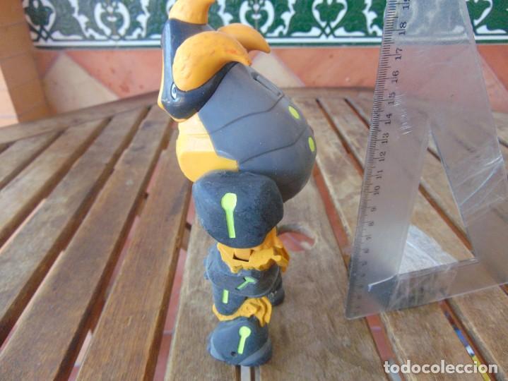 Figuras y Muñecos Gormiti: FIGURA EN PLÁSTICO O GOMA DE GORMITI NECESITA LIMPIEZA - Foto 2 - 206327521