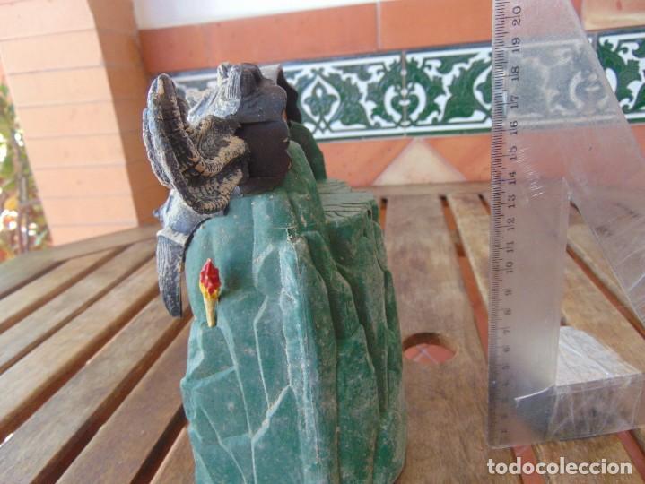 Figuras y Muñecos Gormiti: FIGURA EN PLÁSTICO O GOMA DE GORMITI NECESITA LIMPIEZA - Foto 4 - 206327651