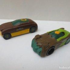 Figuras y Muñecos Gormiti: DOS COCHES GORMITI - MARCA MONDO MOTORS. Lote 211901656