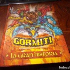 Figuras e Bonecos Gormiti: GORMITI LA GRAN HISTORIA. 2ª ED. JULIO 2.009 GIOCHI PRECIOSI, MEDIA LIVE. Lote 230734515