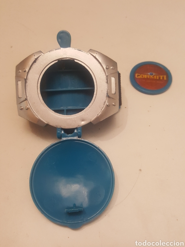 Figuras y Muñecos Gormiti: Reloj Lanzador de tazos Gormiti - Foto 2 - 236826655